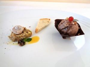 Ristorante Mocajo, Paté di Lumache e Paté di Fagiano. Foto di Giorgio Dracopulos