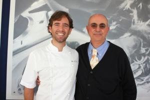 Ristorante Da Mirko, Lo Chef Mirko Pedroni e Giorgio Dracopulos Critico Gastronomico